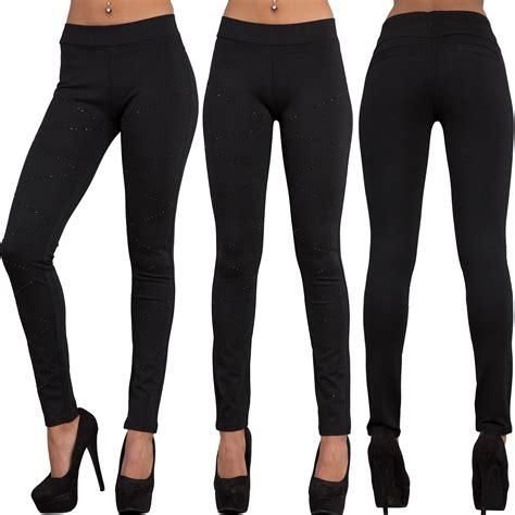 leggings pattern measurements ladies women sexy black leggings trousers with rose