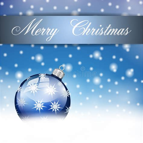 blue silver merry christmas ball stock illustration illustration  celebrate texture