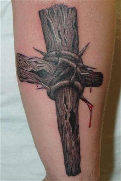 wooden cross tattoos for men 17 best images about skin on cross tattoos