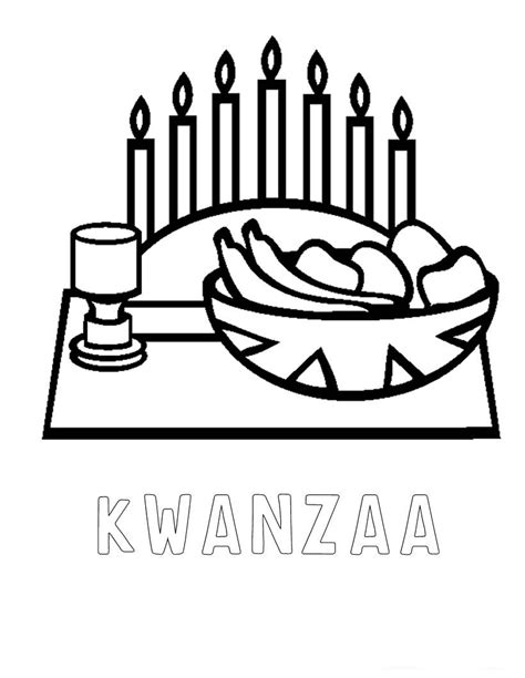 kwanzaa coloring pages just colorings