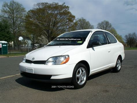 2001 Toyota Echo 2 Dr 5 Spd Clutch Fun Ecomonical Reliable