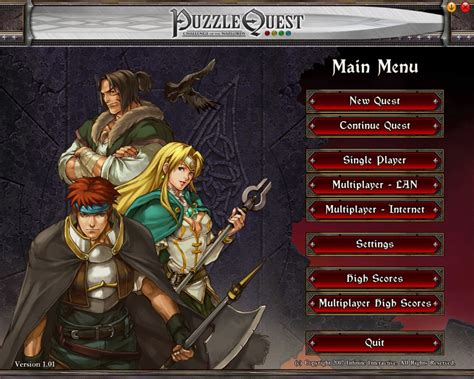 puzzle quest challenge of the warlords puzzle quest challenge of the warlords screenshots for