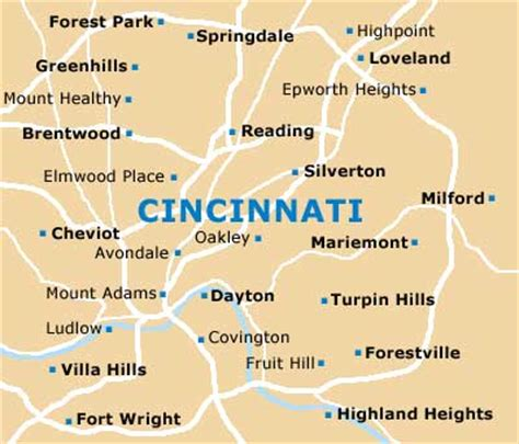cincinnati travel guide  tourist information