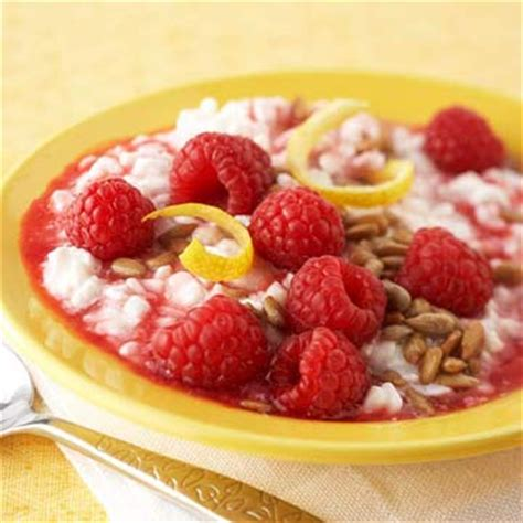 is cottage cheese for diabetics cottage cheese with raspberry honey diabetic living