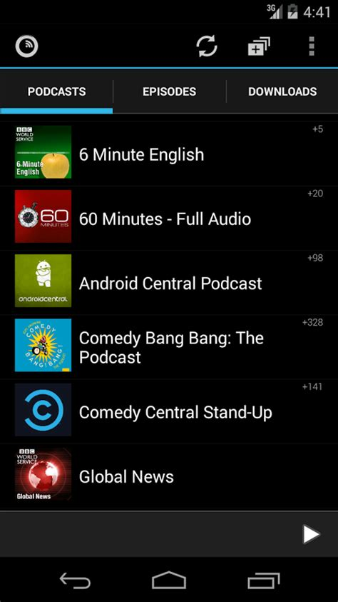 podcast players for android podkicker podcast player android apps on play