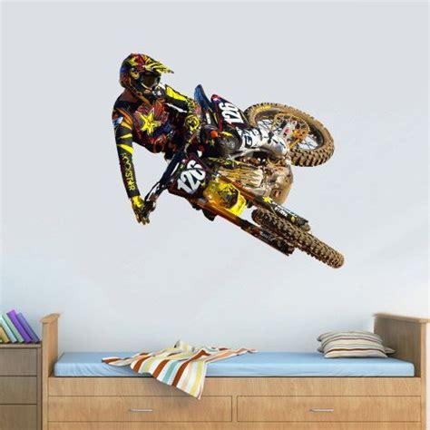 motocross bedroom wallpaper wall decal good look motocross decals for walls dirt bike