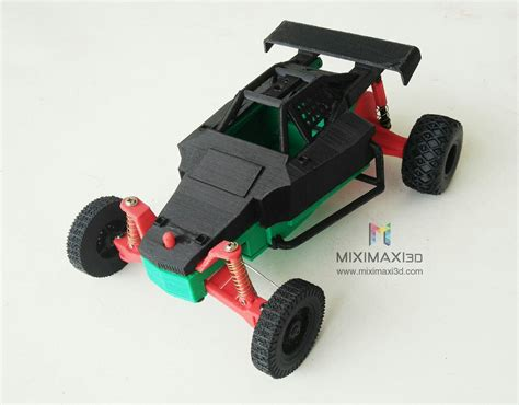 Printer 3d Miximaxi by Miximaxi3d On Quot Rc Car Frame Printed On