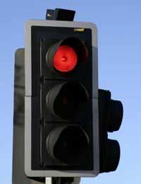 cameras on traffic lights running a light