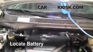 Where Is The Battery Located On A 2001 Buick Lesabre Battery Replacement 2001 2005 Toyota Rav4 2001 Toyota