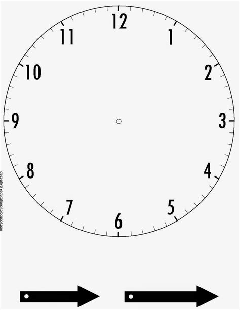printable clock template with hands relentlessly fun deceptively educational race around the