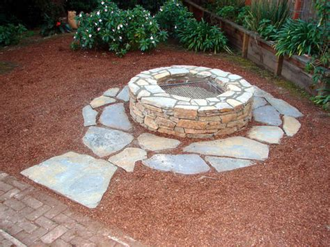 Diy Firepit How To Build A Pit And Grill How Tos Diy