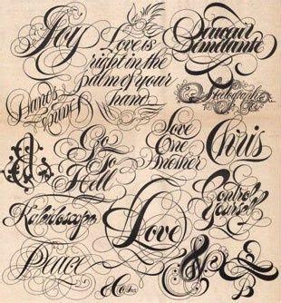 tattoo letters kind typographic tattoo fonts types i wanr my grandma s name