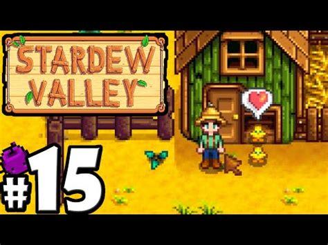 earthquake stardew video stardew valley gameplay walkthrough part 15 baby