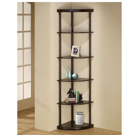 Coaster Corner Bookcase Coaster 800279 Corner Bookcase Home Furnishings And Flooring
