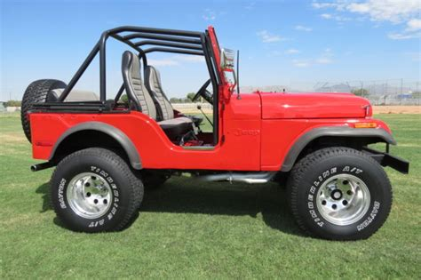 1974 Jeep Cj7 1974 Jeep Cj5 Base Sport Utility 2 Door 343 V8
