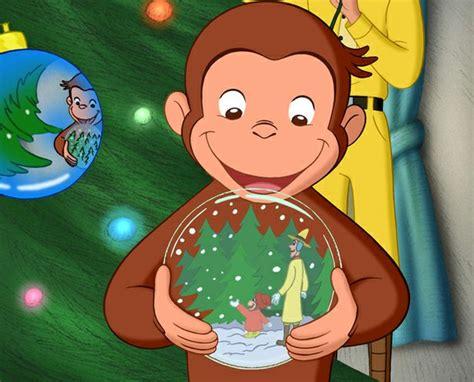 film kartun george monkey curious george a very monkey christmas movie night