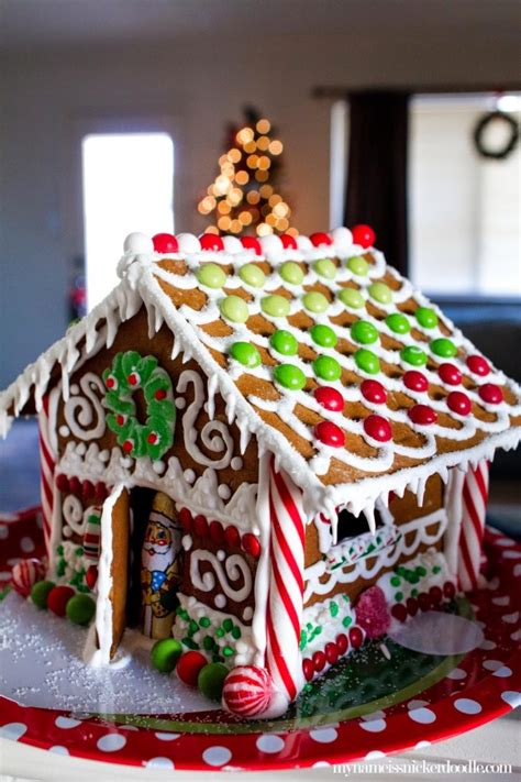christmas gingerbread house decoration ideas stress free tips for a gingerbread house my name is snickerdoodle