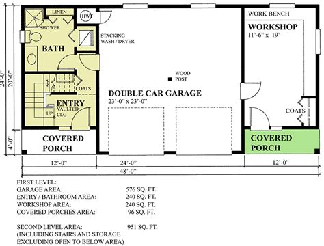 home workshop layout plans carriage house plan with workshop 9825sw architectural