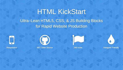 html kickstart themes how to kickstart your html webdesigner depot
