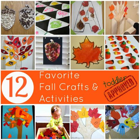 fall themed crafts for toddler approved 12 favorite fall crafts and activities