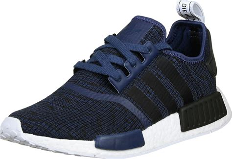 adidas nmd  shoes blue black heather