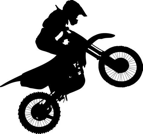 dirt bike clipart clipart motocross silhouette 2