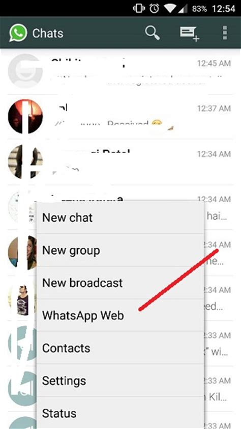 tutorial whatsapp web android whatsapp for web pc desktop mac how to use it