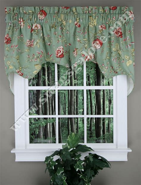 swag and jabot curtains 1000 images about jabot swag kitchen curtains on