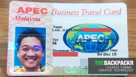 Abtc Business Travel Card apec business travel card application for