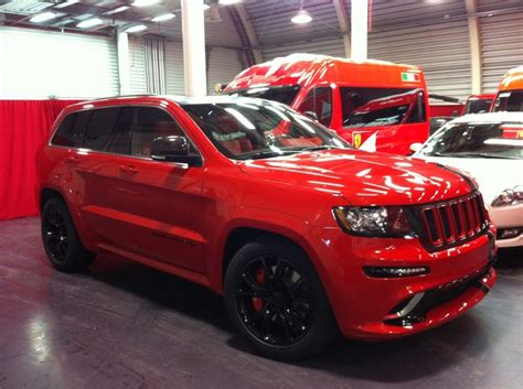 ferrari jeep 2012 jeep grand cherokee srt8 ferrari edition