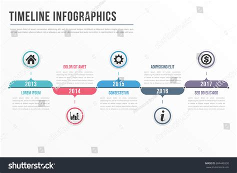 workflow timeline template timeline infographics template workflow process
