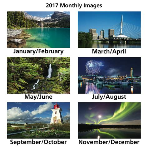 imprintca canada charms large  month view calendar  imprinted   logo