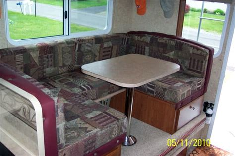 making truck camper seating  comfortable