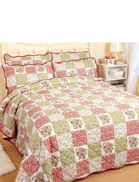 Patchwork Bedspreads Uk - vintage patchwork bedspread set by ringley home home
