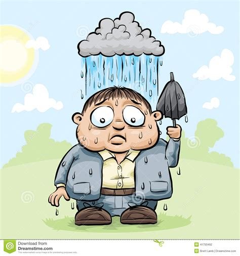 2d Design For Home by Personal Rain Cloud Stock Illustration Image 41750492