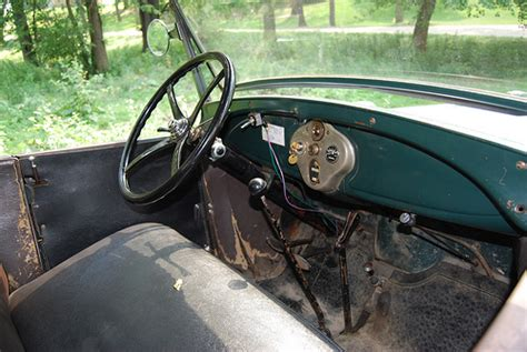 Model A Ford Upholstery by Ford Model A Roadster Interior Flickr Photo