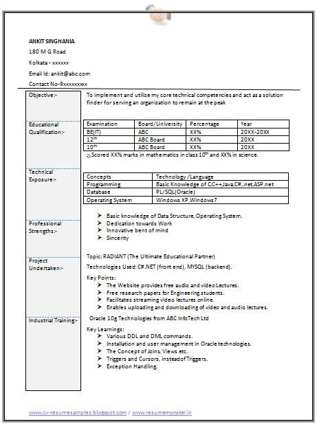Internship Position At Chicago For Mba In Information System by 1000 Ideas About Resume Format On Free