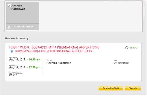 Batik Air Confirmation Number | andhika padmawan s blog batik air check in