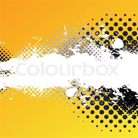 an abstract paint splatter background texture with lots of copy space stock vector colourbox