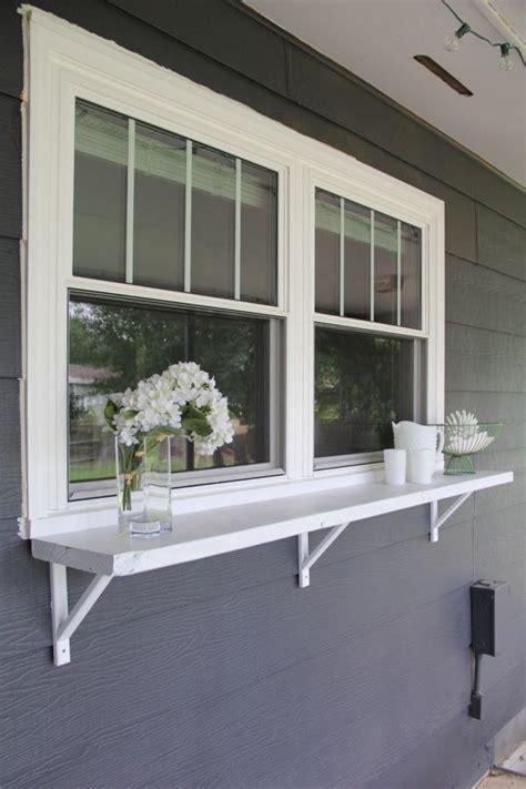 backyard window build a window serving buffet window ledge outdoor entertaining and buffet