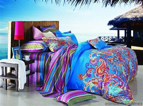 multi colored bedding queen duvet covers bed in a bag 5pc gorgeous multi colored