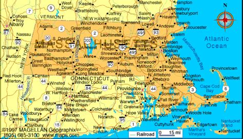 massachusetts city map massachusetts plymouth cape cod