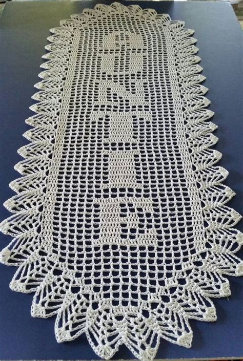 pattern for crochet name doilies filet crochet name doily 6 letters letter style c vertical