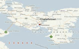 charlottetown canada map charlottetown location guide