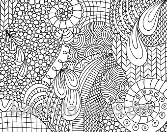 free zentangle coloring pages pdf coloring page printable zentangle inspired instant download