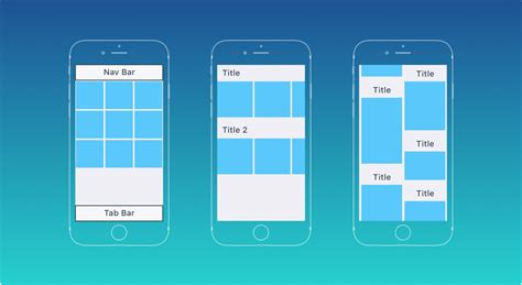 app layout grid guidelines on how to make a great mobile app screen design