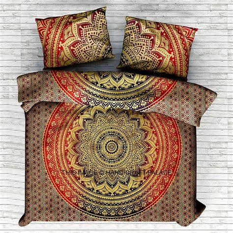 hippie bed set size indian mandala bedding set throw hippie