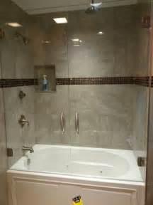 frameless doors a bathtub