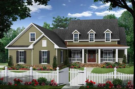 cape cod house plan 4 bedrms 3 baths 2255 sq ft