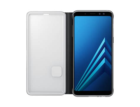 Casing Samsung A8 samsung a8 2018 neon flip cover black price in malaysia